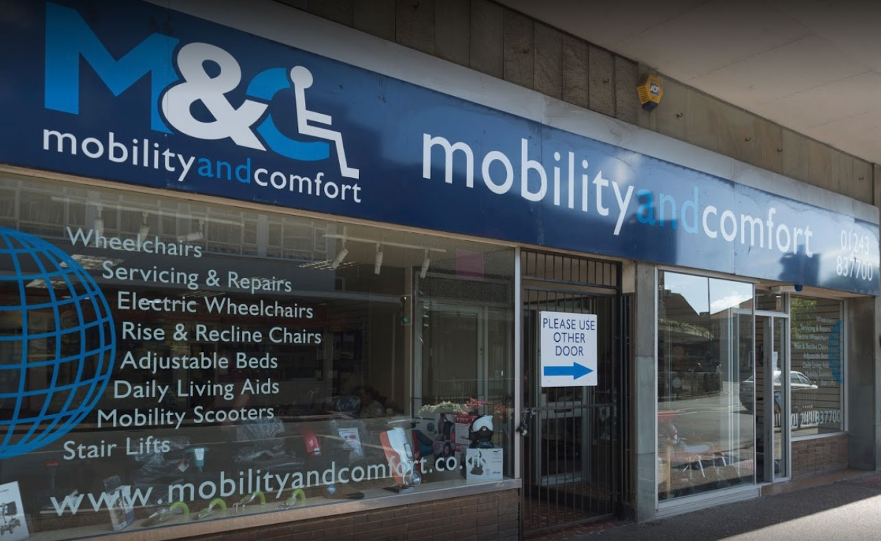 mobility and comfort showroom