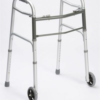 Lightweight Aluminium Walking Frame with Wheels-0