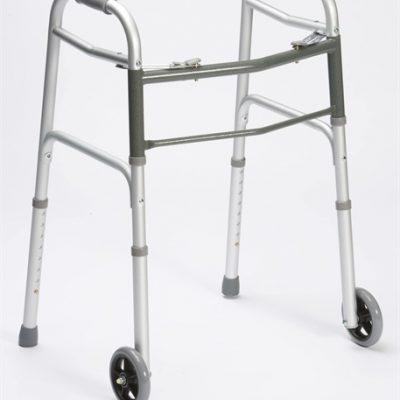 Lightweight Aluminium Walking Frame with Wheels-0