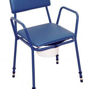 Essex Height Adjustable Commode Chair-0