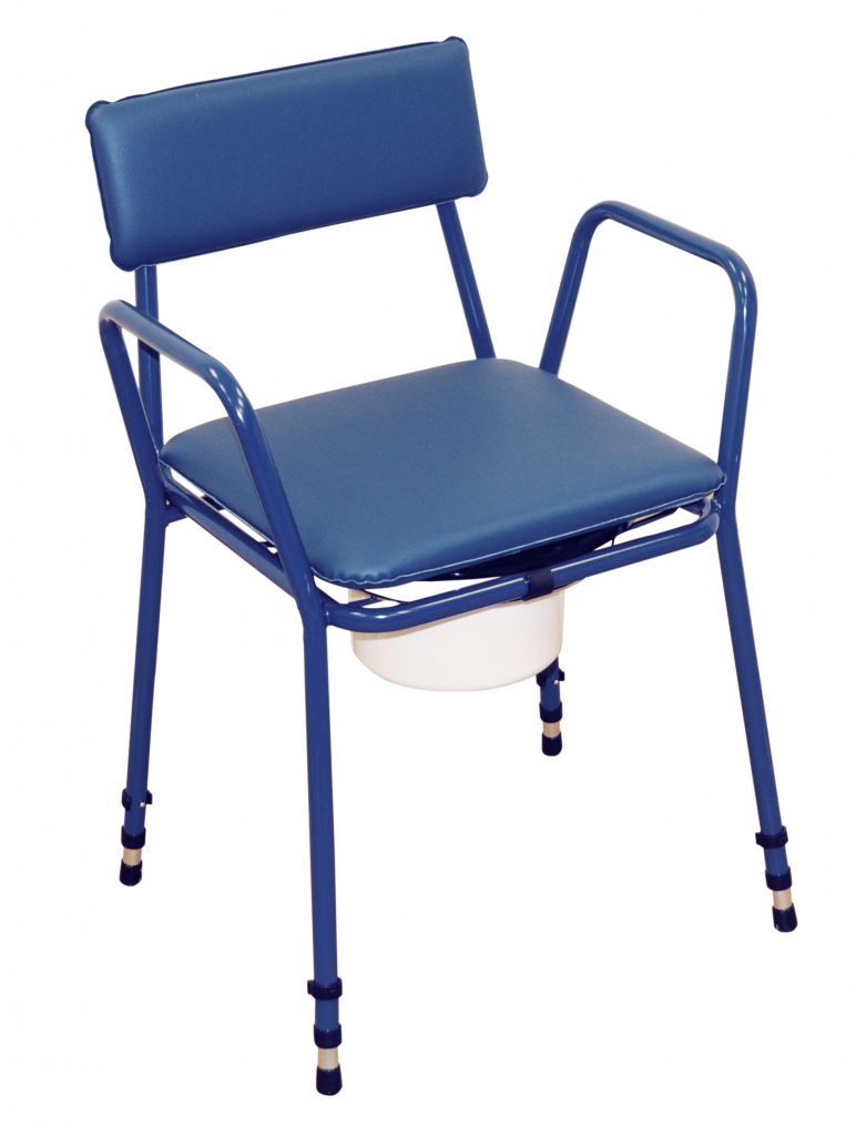 Essex Height Adjustable Commode Chair-230