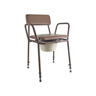Essex Height Adjustable Commode Chair-228