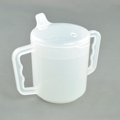Two Handled Mug with spout - 250ml-0
