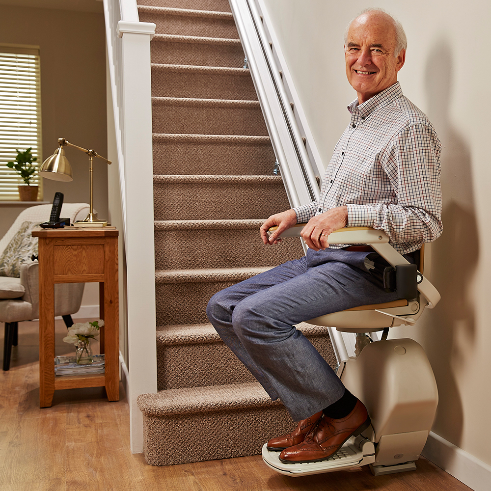 Straight Staircase Stairlift Acorn