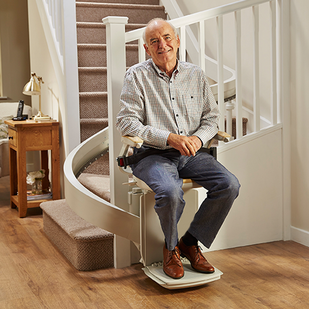 Curved Staircase Stairlift