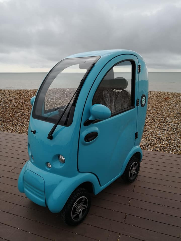 Scooterpac Cabin Car Mk 2 Mobility Scooter Road Legal Luxury Scooter